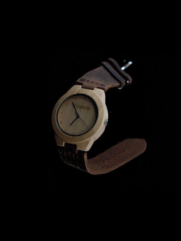 Reloj de madera Rippers watch modelo3