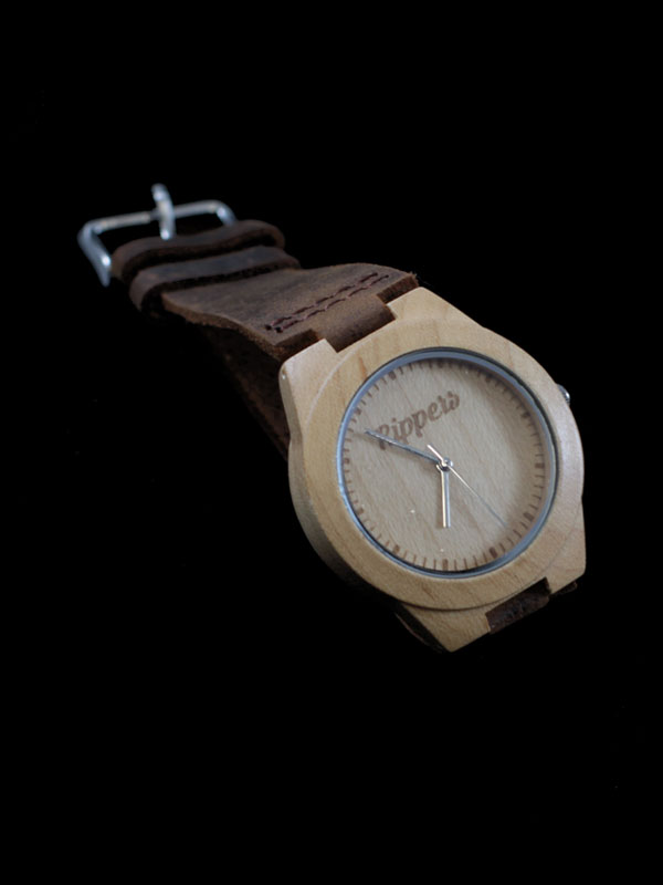Reloj de madera Rippers watch modelo1