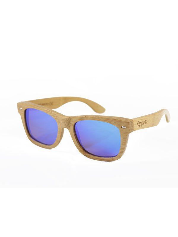 Gafas de sol de madera sky medium tamaño completo fondo blanco