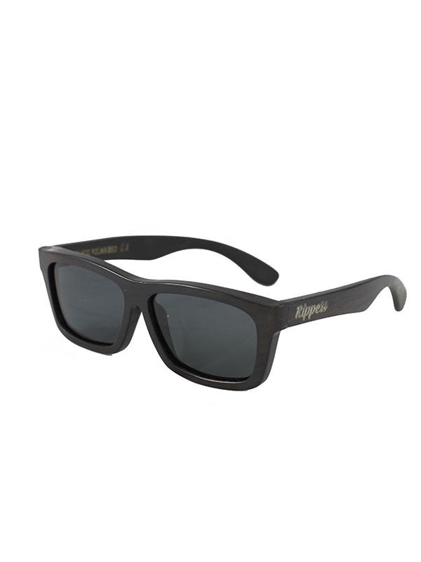 Gafas de sol de madera tarantula black tamaño completo fondo blanco